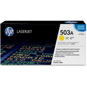HP 503A (Q7582AG) Yellow Original LaserJet Toner Cartridge for US Government HEWQ7582AG