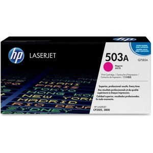 HP 503A (Q7583AG) Magenta Original LaserJet Toner Cartridge for US Government HEWQ7583AG