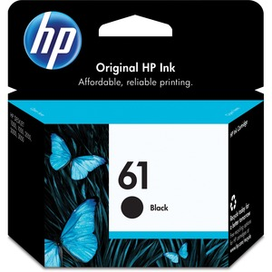 HP 61 Black Original Ink Cartridge HEWCH561WN