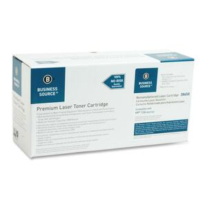 Business Source Toner Cartridge - Remanufactured for HP - Black BSN38650