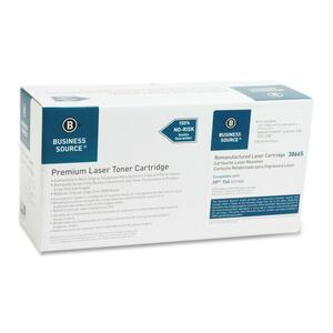 Business Source Remanufactured HP 15A Toner Cartridge BSN38665
