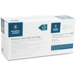 Business Source Toner Cartridge - Remanufactured for HP - Black BSN38667