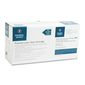 Business Source Toner Cartridge - Remanufactured for HP - Black BSN38671