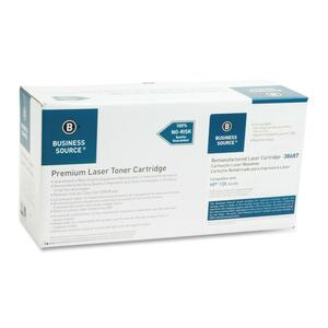 Business Source Toner Cartridge - Remanufactured for HP - Black BSN38687