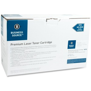 Business Source Toner Cartridge - Remanufactured for HP - Black BSN38709