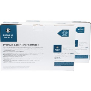 Business Source Remanufactured HP 64X Toner Cartridge BSN38718D