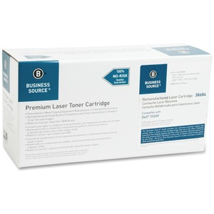 Business Source Remanufactured Dell Replacement Cartridges Y5007 Toner Cartridge BSN38684