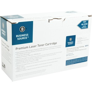 Business Source Toner Cartridge - Remanufactured for HP - Black BSN38715