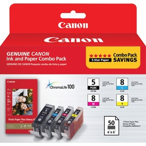 Canon PGI5/CLI8CMY Ink Cartridge - Black, Cyan, Magenta, Yellow CNMPGI5CLI8CMY