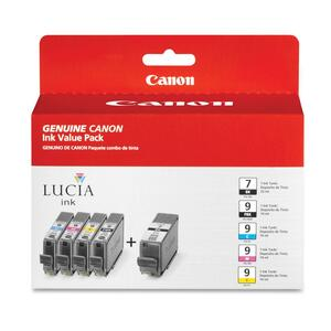 Canon PGI9/PGI7 Ink Cartridge - Black, Cyan, Magenta, Yellow, Photo Black CNMPGI9PGI7
