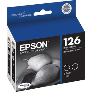 Epson DURABrite 126 Ink Cartridge - Black EPST126120D2