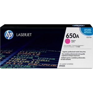 HP 650A Toner Cartridge - Magenta HEWCE273A
