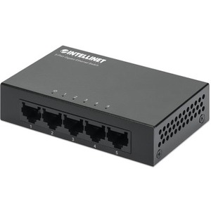 Intellinet 5-Port Gigabit Desktop Switch, Metal Housing ITN530378
