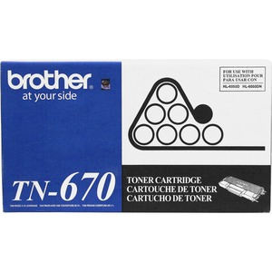 Brother Black Toner Cartridge BRTTN670
