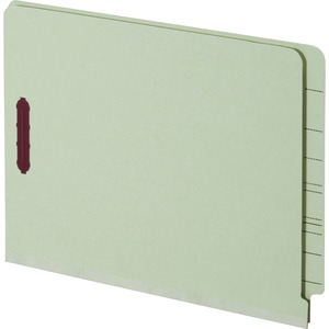 Globe-Weis End Tab Pressboard Folder with Fastener GLW44705