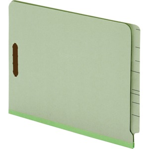 Globe-Weis End Tab Pressboard Folder with Fastener GLW44715
