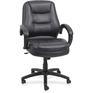 Lorell Westlake Mid Back Managerial Chair LLR63287