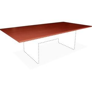 Lorell Essentials Rectangular Conference Table Top LLR69123