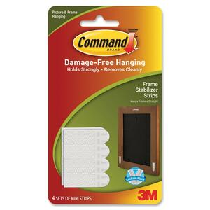 Command Stay Straight Picture Hanging Strip MMM17208