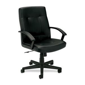 Basyx by HON VL602 Mid Back Loop Arm Management Chair BSXVL602SB11