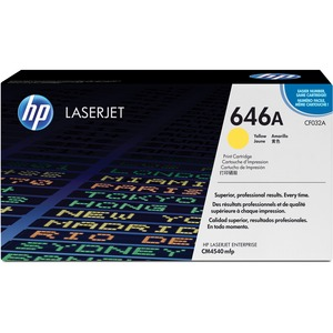 HP 646A (CF032A) Yellow Original LaserJet Toner Cartridge HEWCF032A