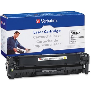 Verbatim HP CC532A Compatible Yellow Toner Cartridge VER97483