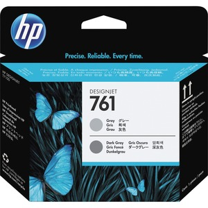 HP 761 Printhead - Gray, Dark Gray HEWCH647A