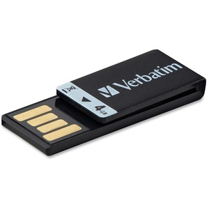 Verbatim 4GB Clip-it 97555 Flash Drive VER97555