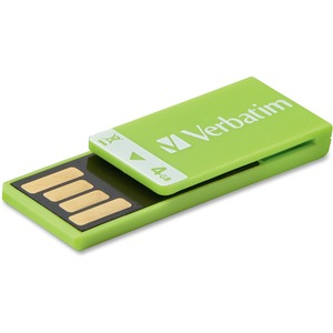 Verbatim 4GB Clip-it 97556 Flash Drive VER97556