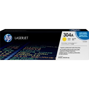HP 304A Toner Cartridge - Yellow HEWCC532AG