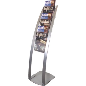 Deflect-o Contemporary Literature Floor Stand DEF693145