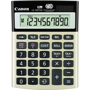 Canon LS-100TSG Green Desktop Calculator CNMLS100TSG