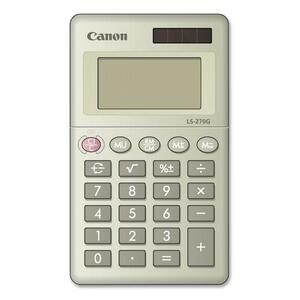 Canon LS-270G 8-digit Handheld Calculator CNMLS270G