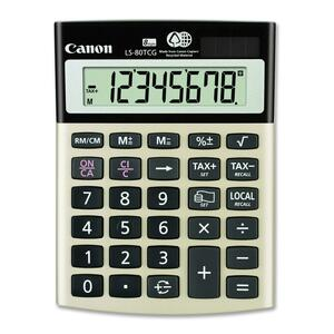 Canon LS80TCG Display Calculator CNMLS80TCG