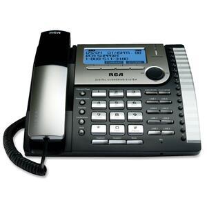 RCA Standard Phone - Black, Silver RCA25825