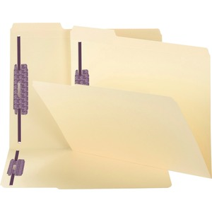 Smead 19555 Manila Fastener File Folders with SafeSHIELD Fasteners SMD19555