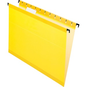 Esselte SureHook Reinforced Hanging File Folder ESS615215YEL