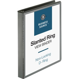 Business Source Basic D-Ring View Binder BSN28446