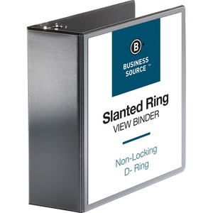 Business Source Basic D-Ring View Binder BSN28450
