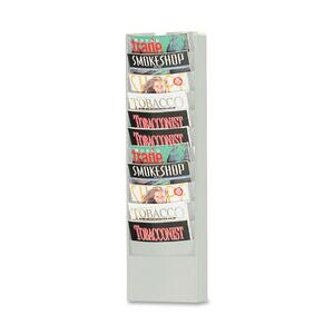 Buddy Eclipse Curved Literature Rack BDY086232