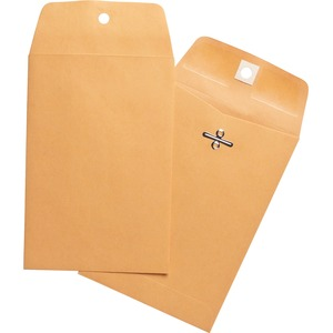 Business Source Heavy Duty Clasp Envelope BSN36671