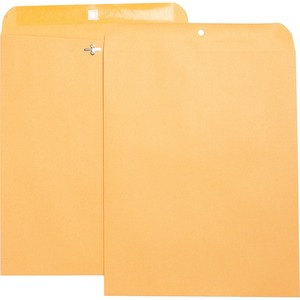 Business Source Heavy Duty Clasp Envelope BSN36675