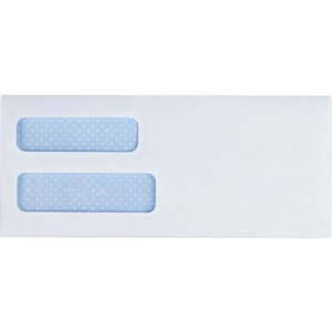 Business Source Double Window Envelope BSN42204