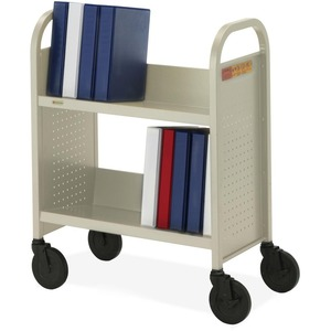 Bretford Basics Voyager Single-Sided Book Truck BREBOO227PB