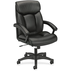 Basyx by HON VL151 High Back Loop Arm Executive Chair BSXVL151SB11