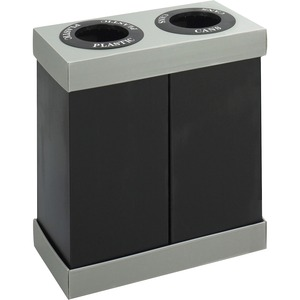 Safco At-Your-Disposal Recycling Center Double SAF9794BL