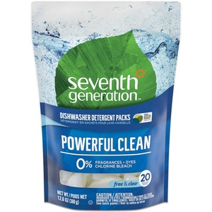 Seventh Generation Natural Dishwasher Pacs SEV22818