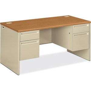 HON 38155 Pedestal Desk with Lock HON38155CL