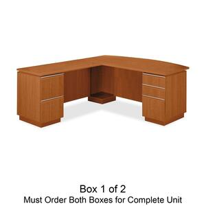 bbf Milano 2 Series Left L Desk Box 1 of 2 BSH50DLL72A1GA