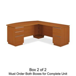 bbf Milano 2 Series Right L Desk Box 2 of 2 BSH50DLR72A2GA